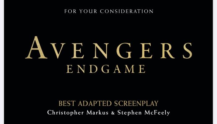 إليكم سيناريو Avengers Endgame المرشح للأوسكار!!